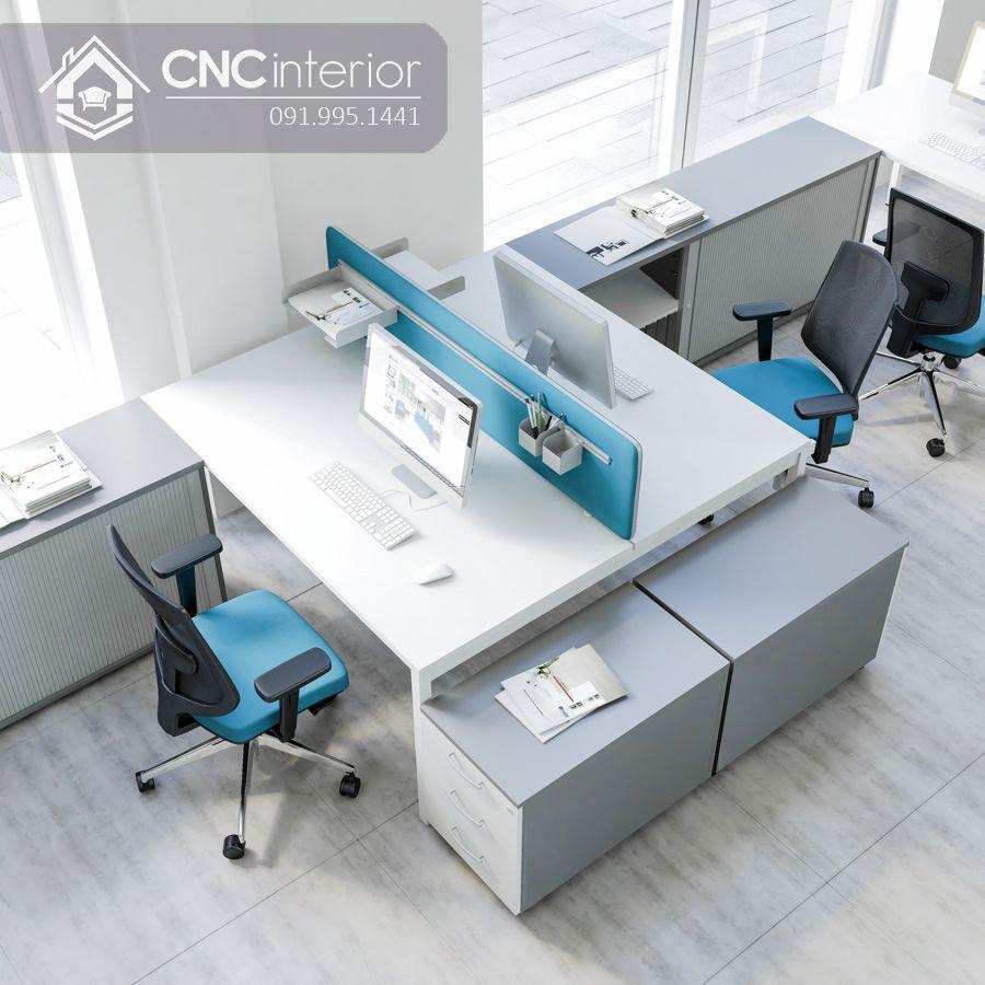 Bàn làm việc văn phòng hiện đại CNC 17 1