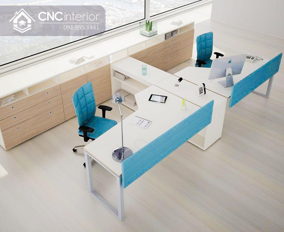 Bàn làm việc văn phòng hiện đại CNC 17