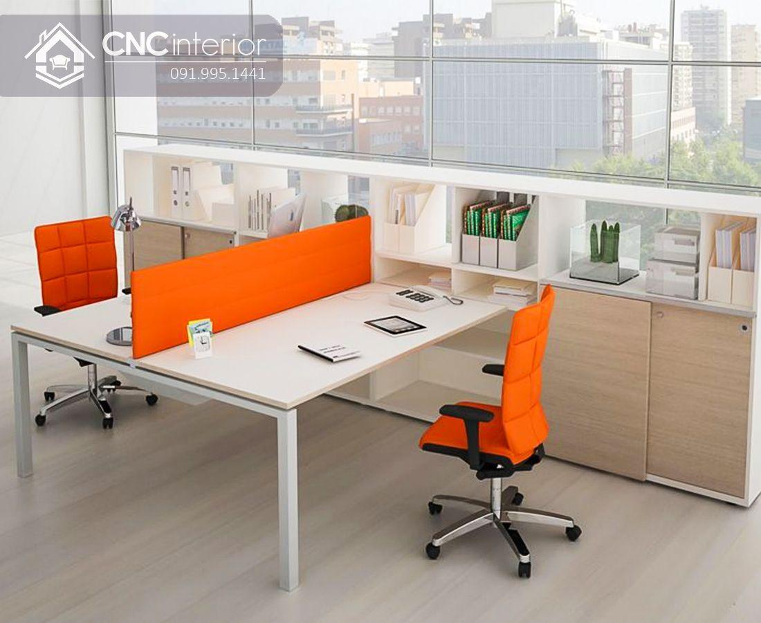 bàn làm việc văn phòng 1m2 nhóm 2 người CNC 18 1