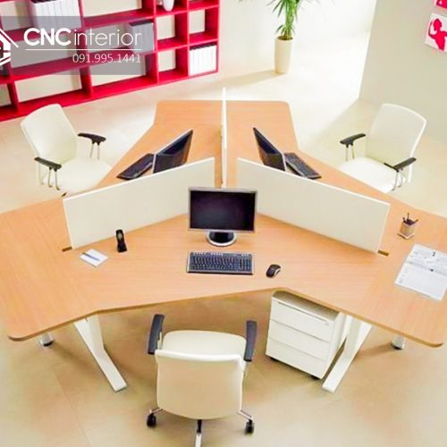 Bàn làm việc văn phòng CNC 19