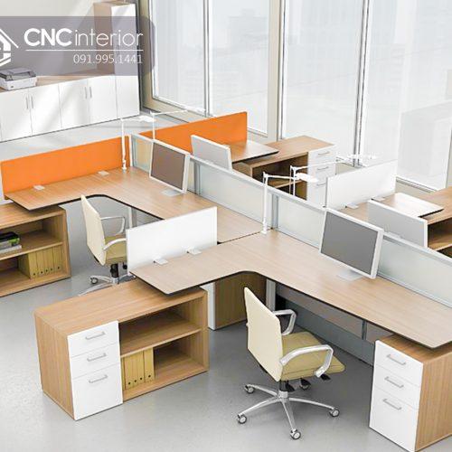 Bàn làm việc văn phòng CNC 20