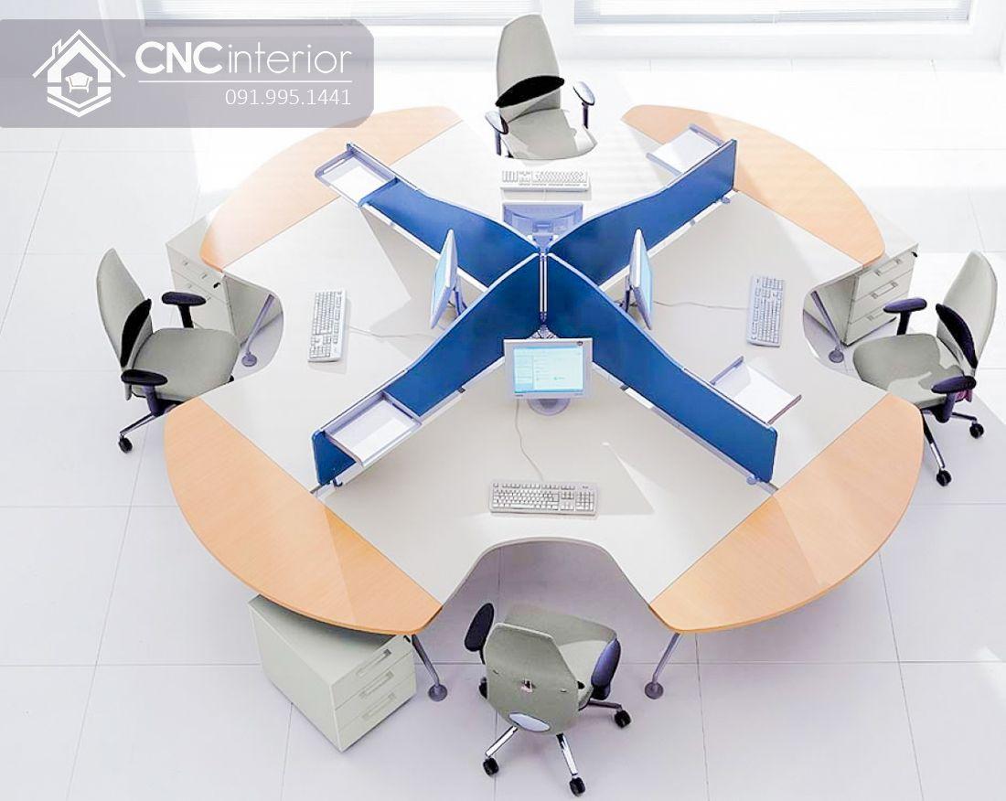 Bàn làm việc văn phòng CNC 22