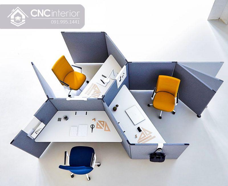 Bàn làm việc văn phòng CNC 03