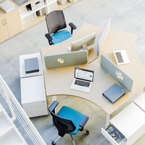 Bàn làm việc văn phòng CNC 06