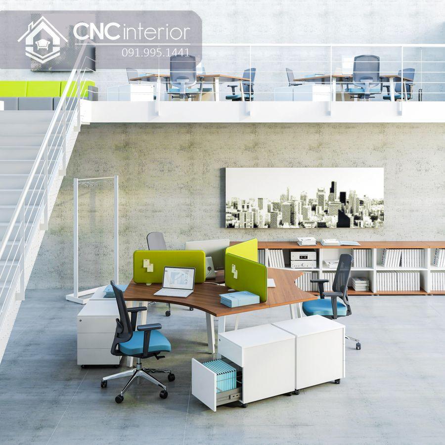 Bàn làm việc nhân viên văn phòng CNC 06