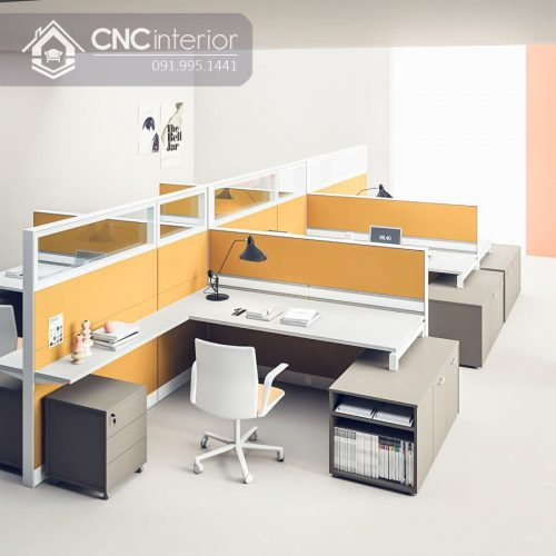 Bàn làm việc văn phòng CNC 08