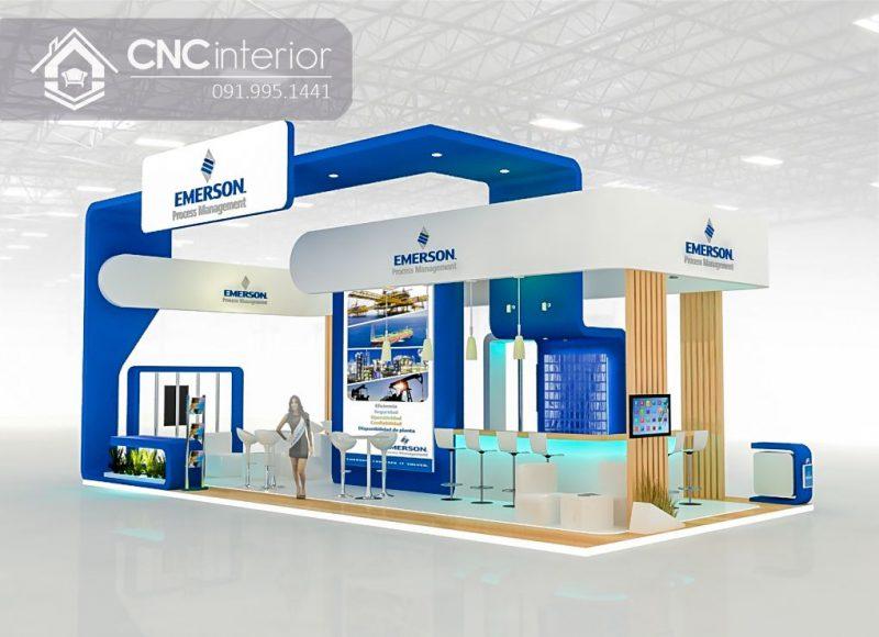 Booth quảng cáo CNC giá cả tương xứng với chất lượng.