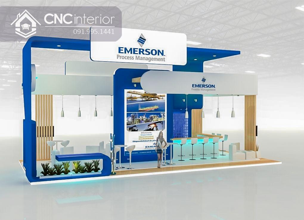 Booth quảng cáo CNC 08