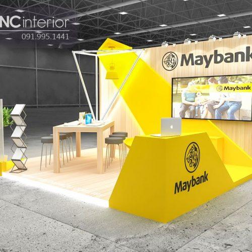 Booth quảng cáo CNC 01