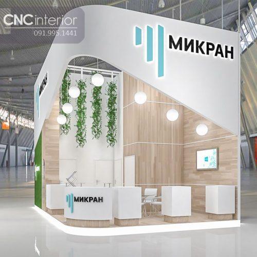 Booth quảng cáo CNC 03