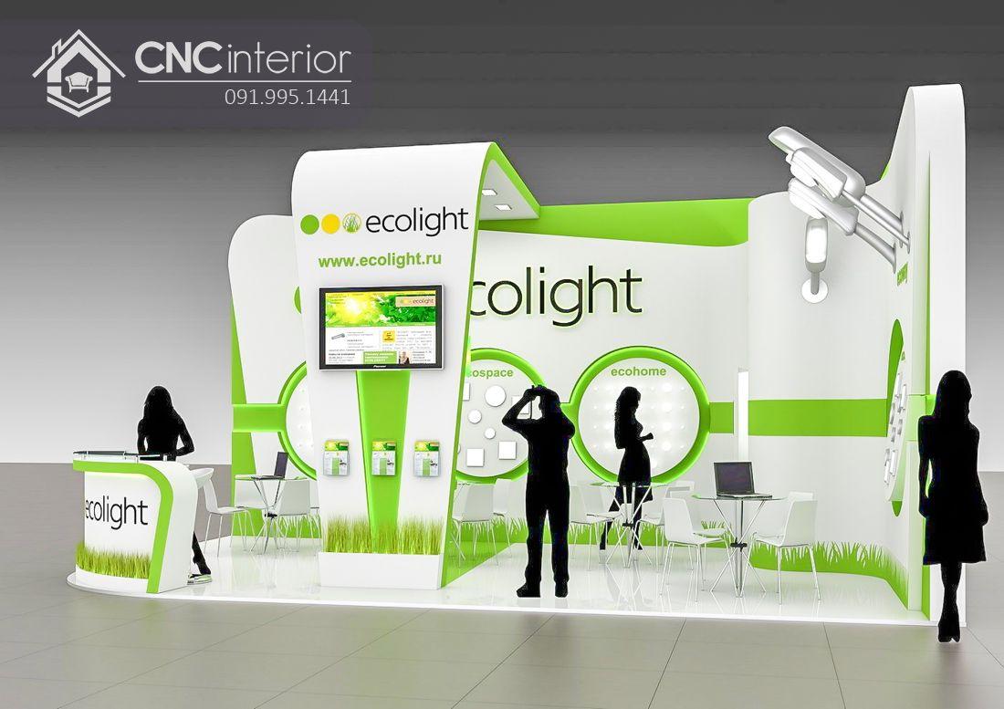 Booth quảng cáo CNC 06