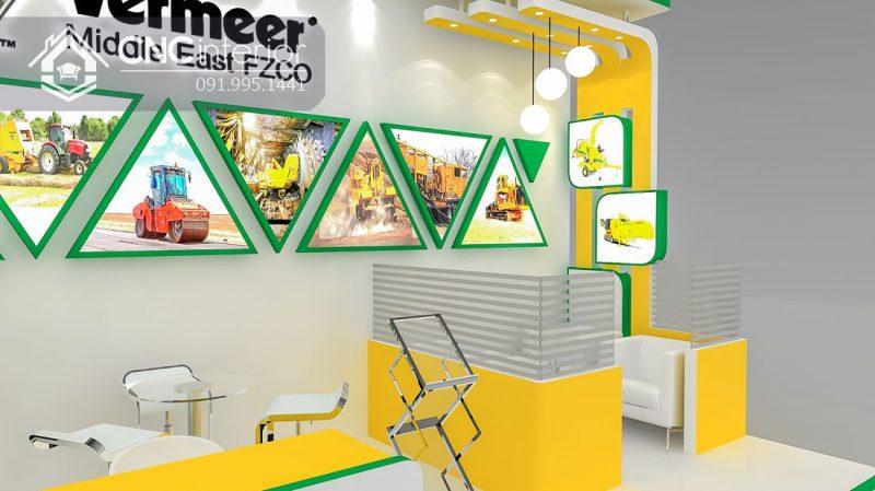 Booth quảng cáo CNC 07