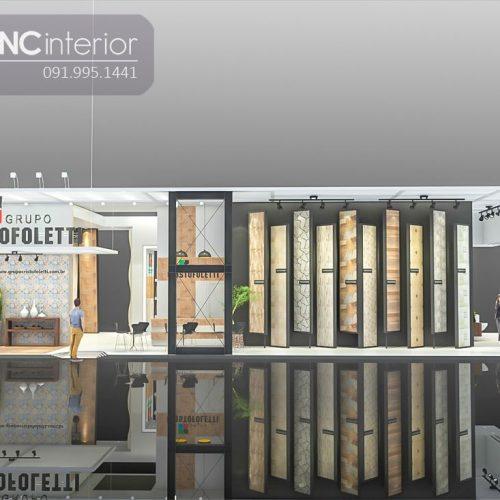 Booth quảng cáo CNC 09
