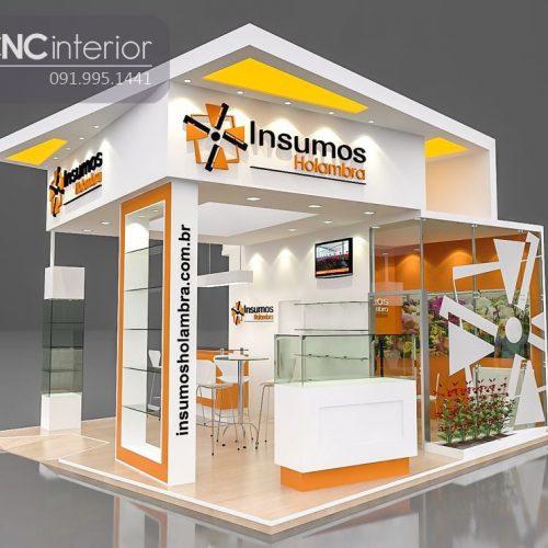 Booth quảng cáo CNC 10