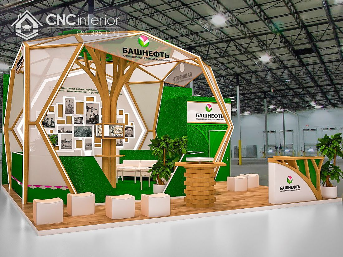 Booth quảng cáo CNC 11