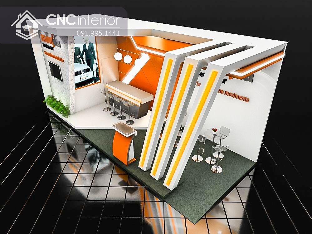 Booth quảng cáoBooth quảng cáo CNC 13