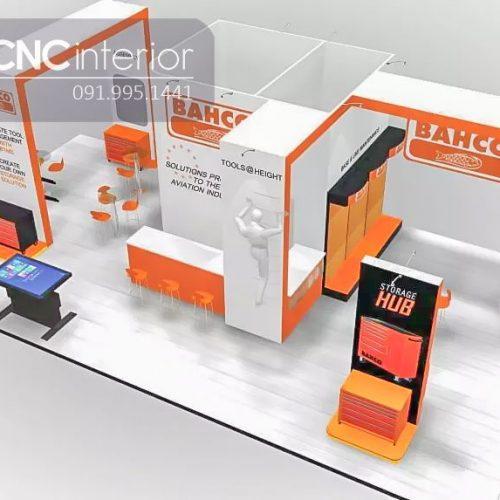 Booth quảng cáo CNC 13