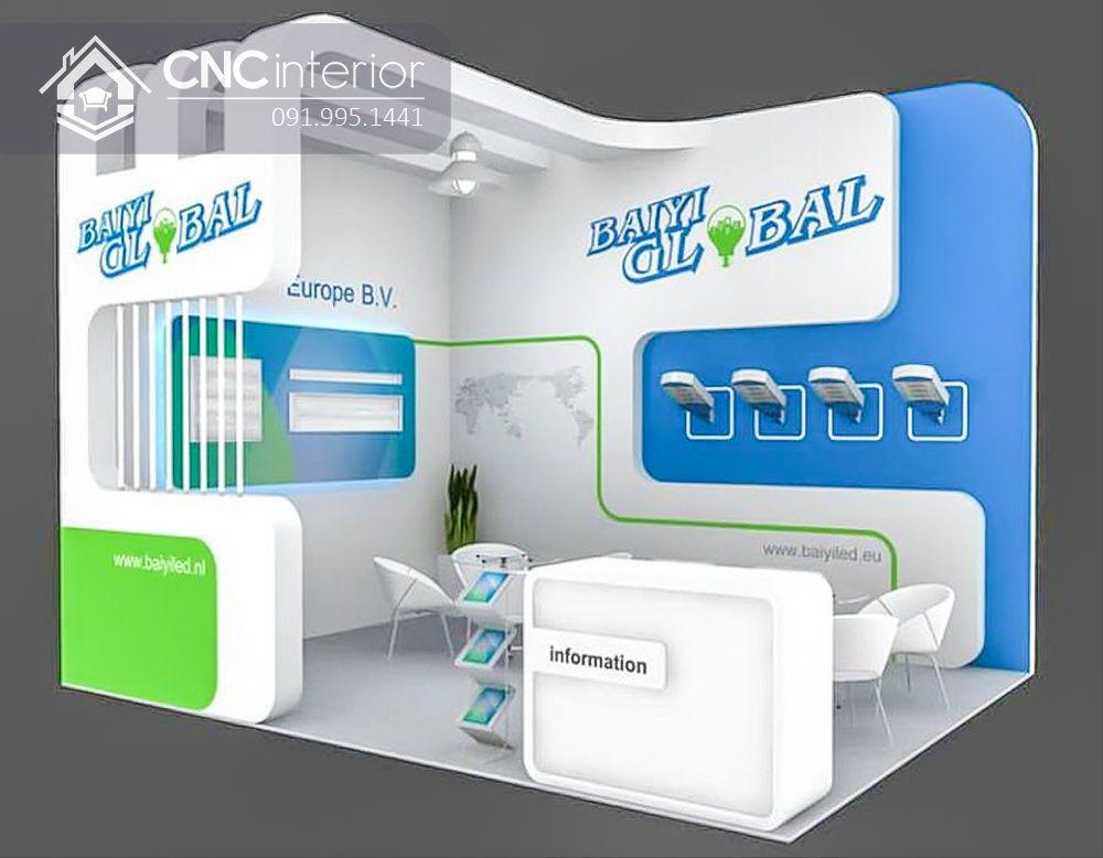 Booth quảng cáo CNC 14