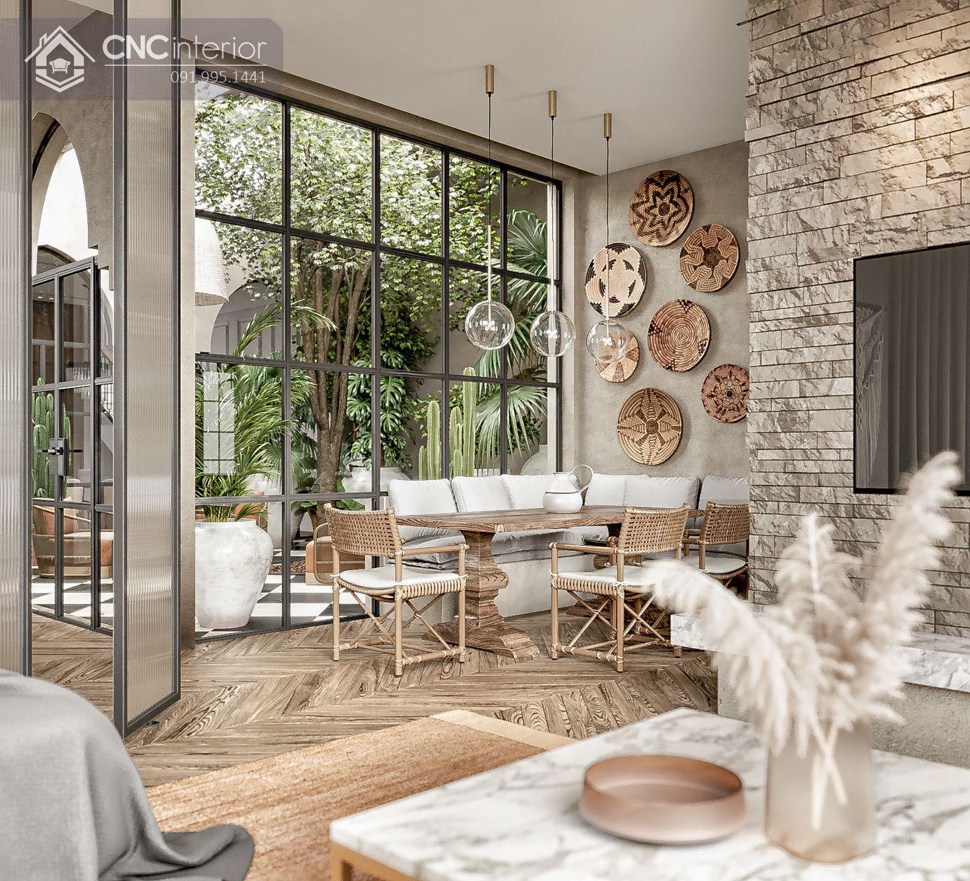 các mẫu thiết kế nội thất biệt thự đẹp 8