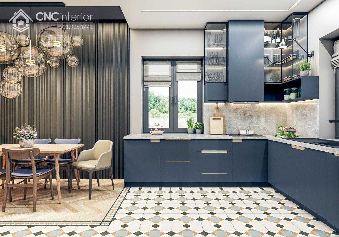 Nhà bếp villa 13