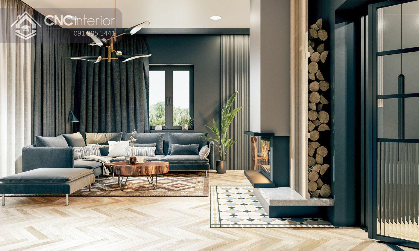 các mẫu thiết kế nội thất biệt thự đẹp 22