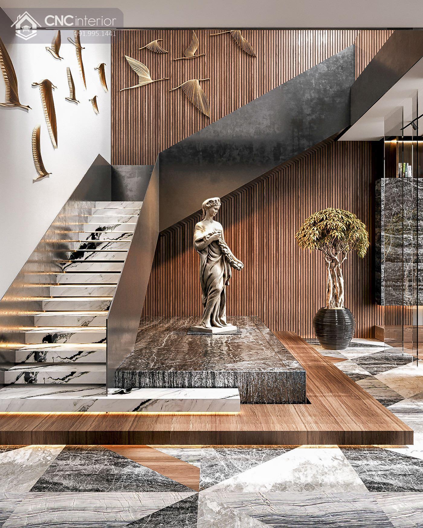 các mẫu thiết kế nội thất biệt thự đẹp 2
