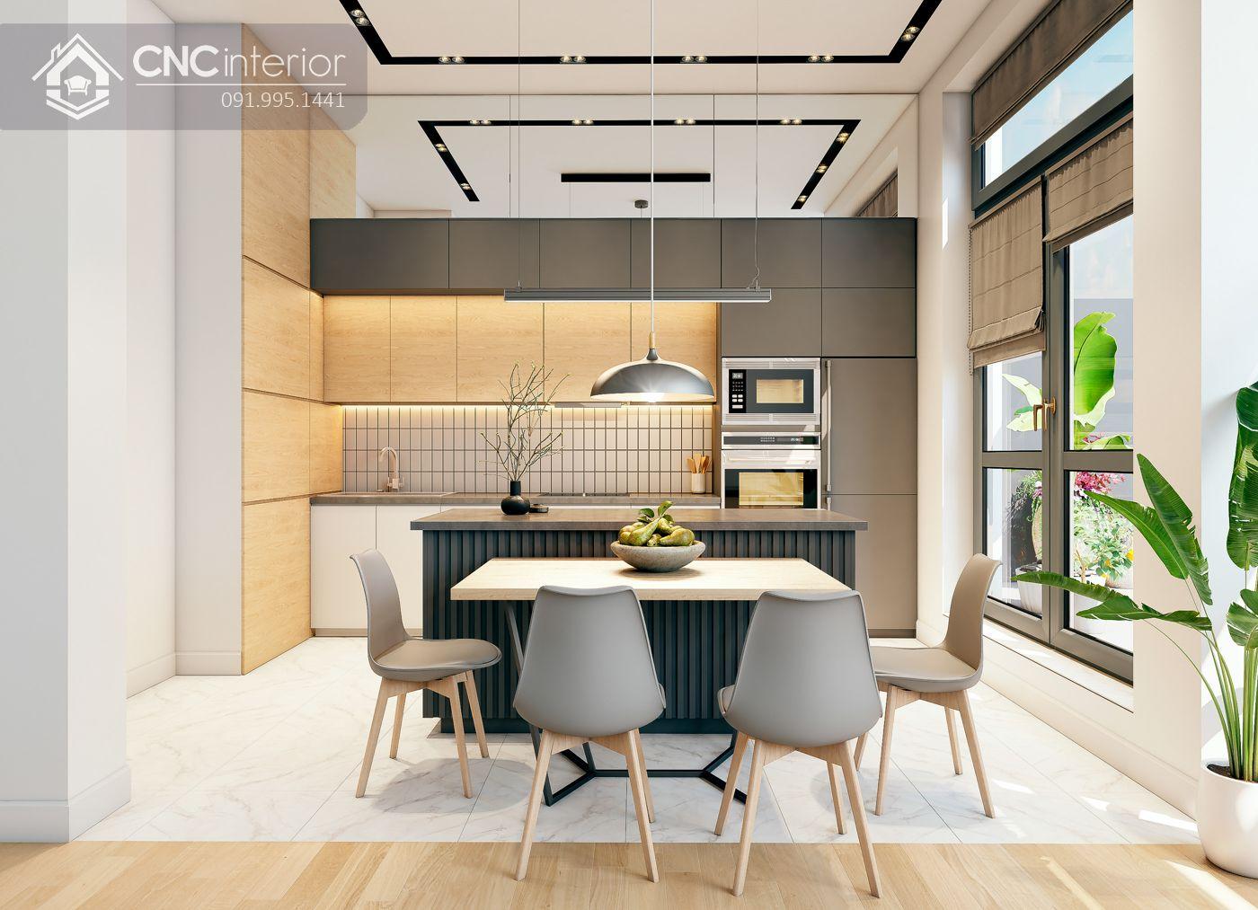 các mẫu thiết kế nội thất biệt thự đẹp 5