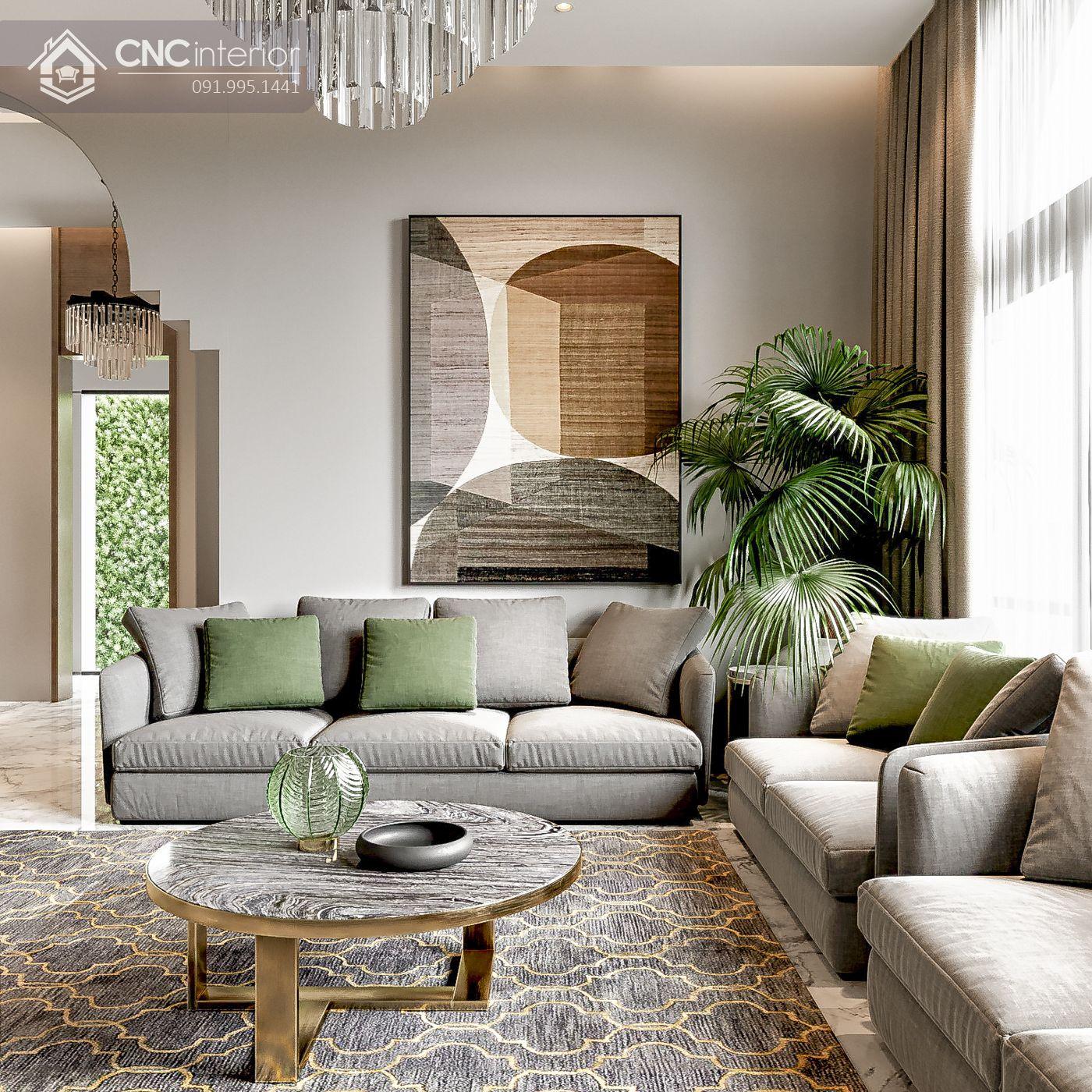 các mẫu thiết kế nội thất biệt thự đẹp 6