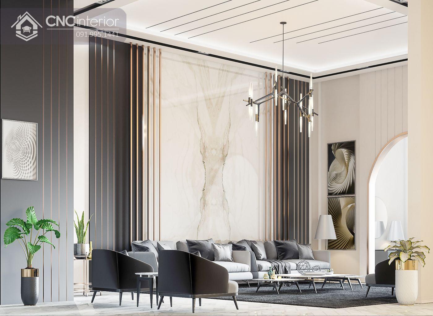 Phòng khách villa 11