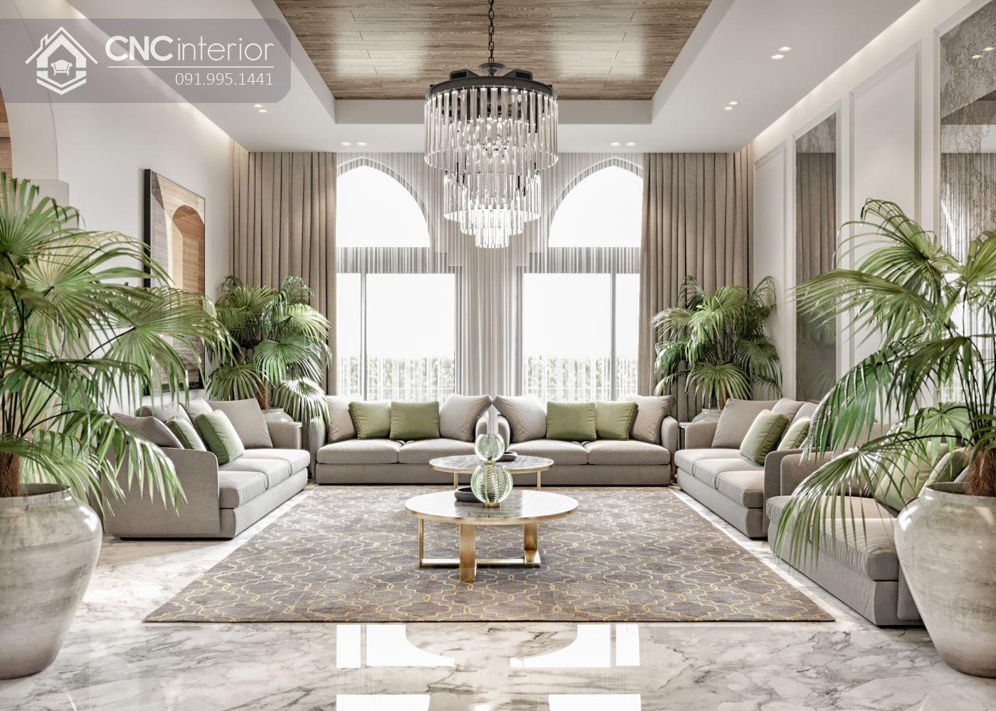 các mẫu thiết kế nội thất biệt thự đẹp 1