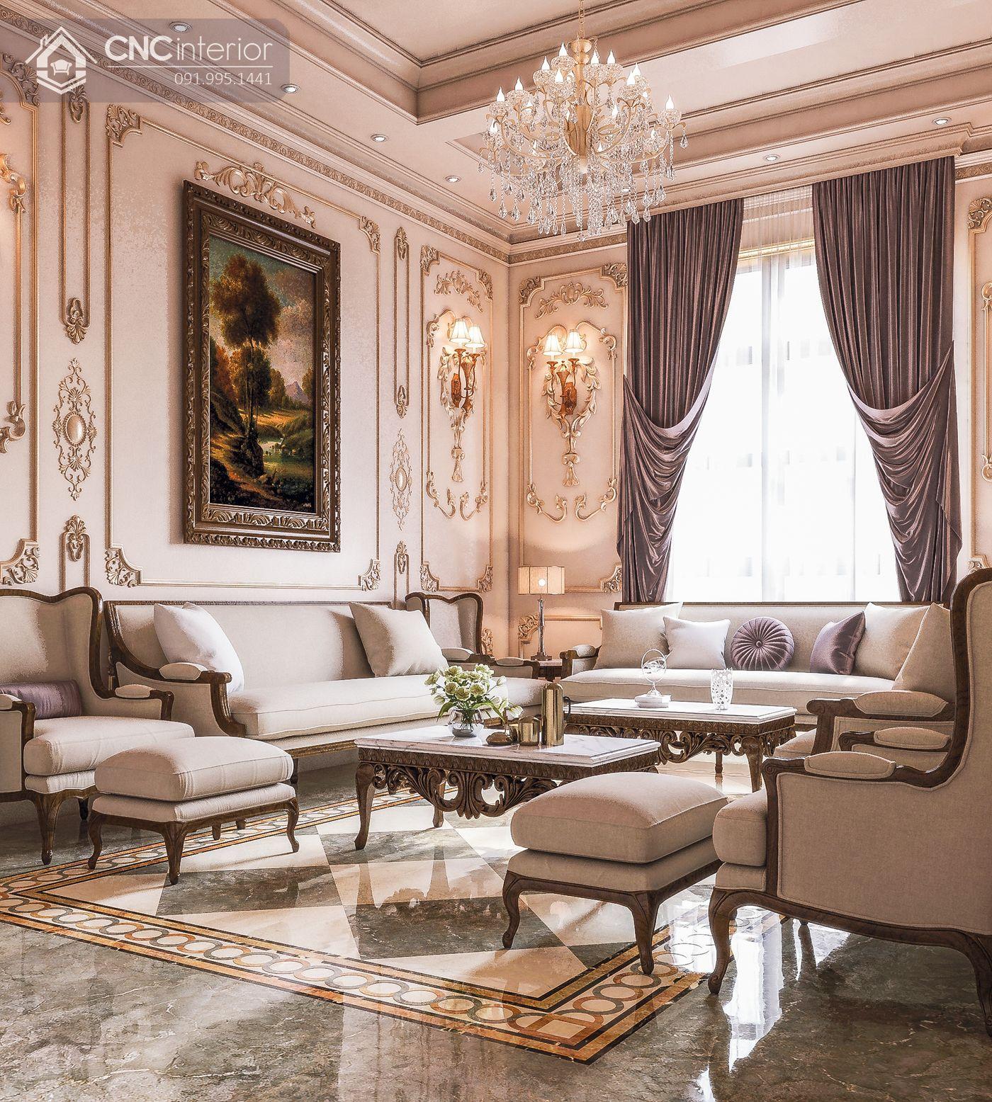 các mẫu thiết kế nội thất biệt thự đẹp 24