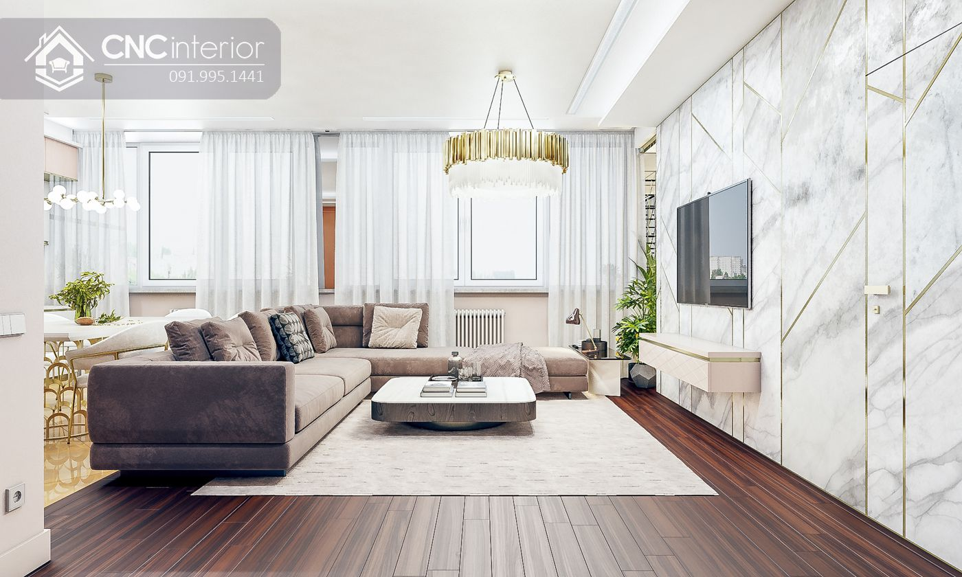 các mẫu thiết kế nội thất biệt thự đẹp 10