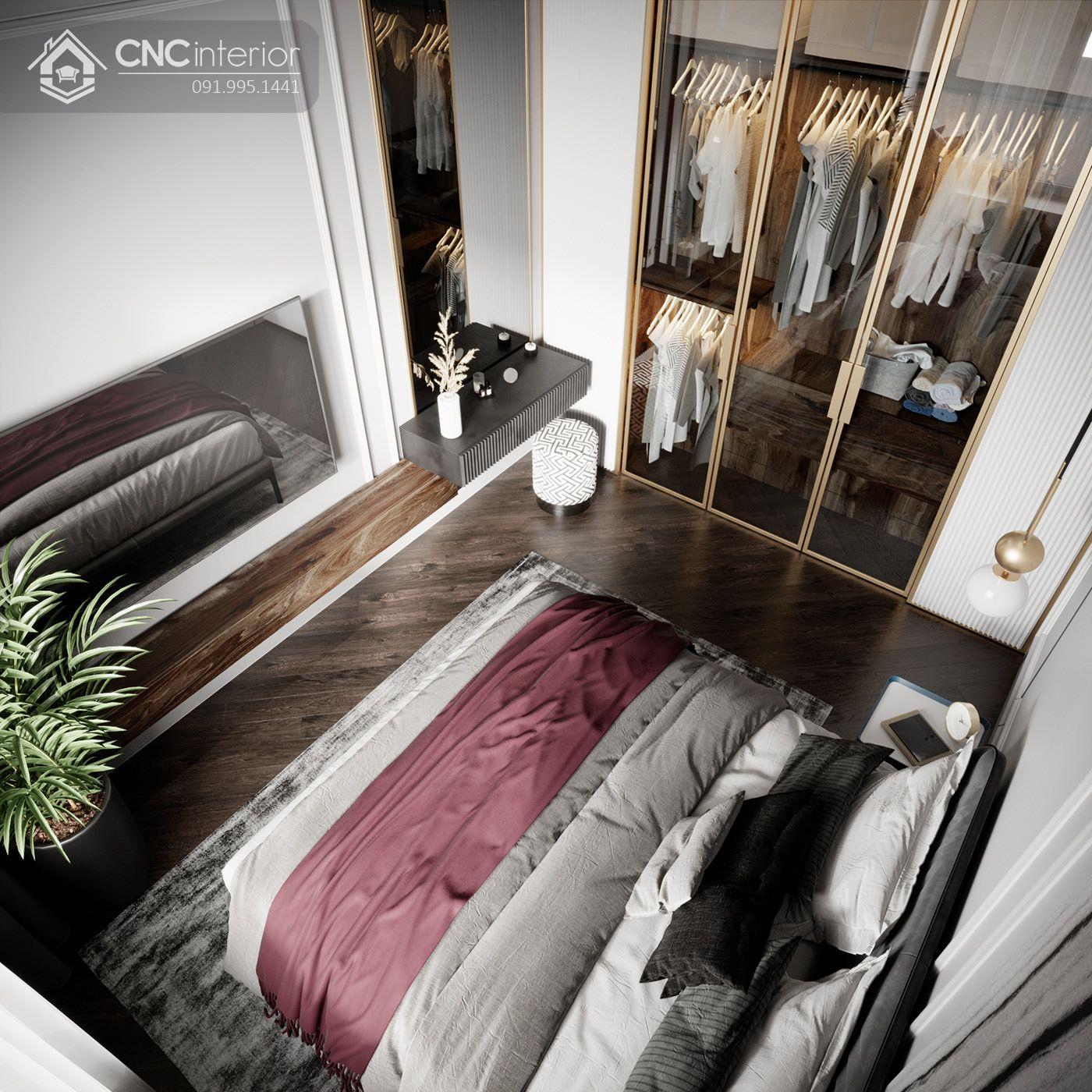 các mẫu thiết kế nội thất phòng ngủ đẹp 9
