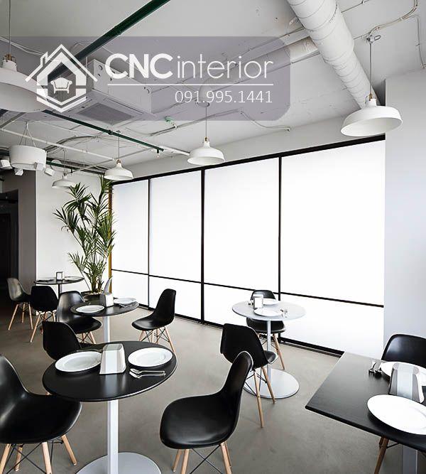 Nội thất CNC - Công trình nhà hàng - nhà ăn công ty DLG Biên Hòa