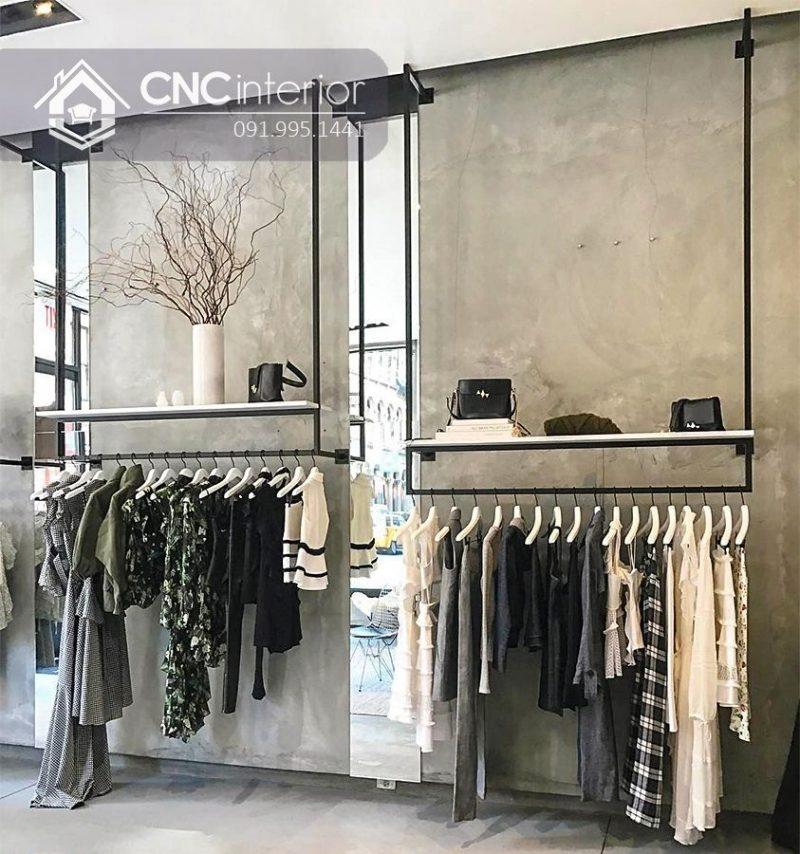 Giá treo quần áo cnc 03