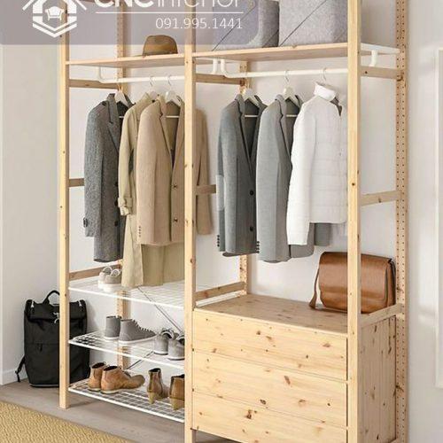 Giá treo quần áo cnc 56