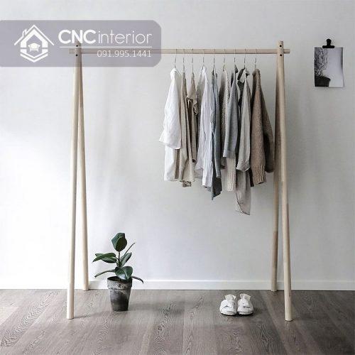 Giá treo quần áo cnc 07