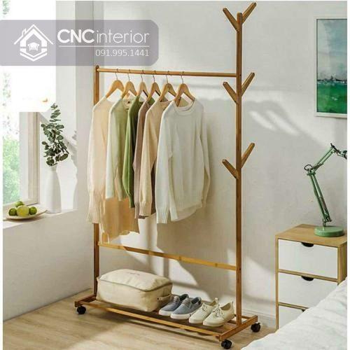 Giá treo quần áo cnc 21