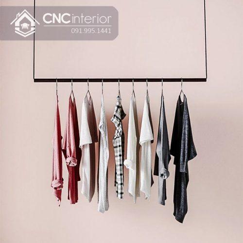 Giá treo quần áo cnc 24
