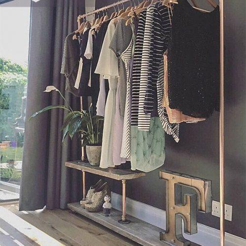 Giá treo quần áo cnc 25