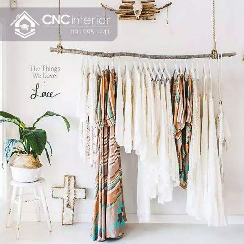 Giá treo quần áo cnc 08