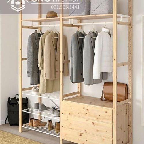 Giá treo quần áo cnc 29