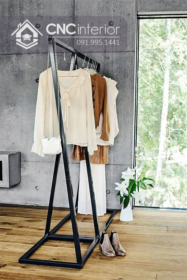 Giá treo quần áo cnc 34