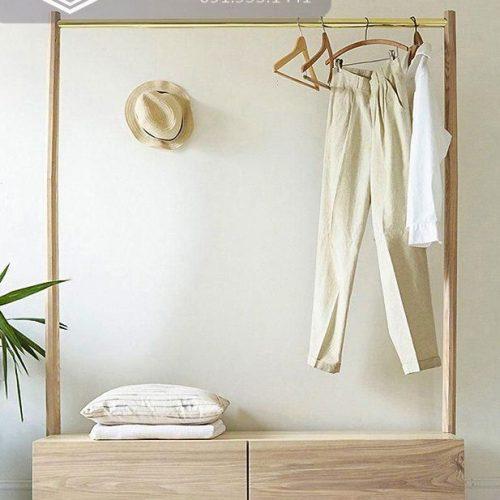 Giá treo quần áo cnc 09