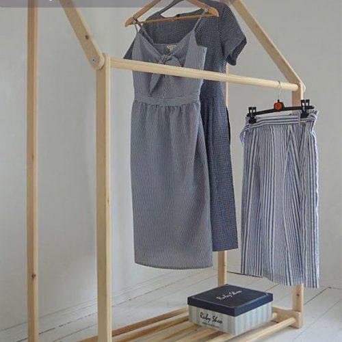 Giá treo quần áo cnc 40