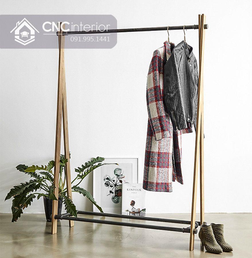 Giá treo quần áo đơn giản CNC 10 1