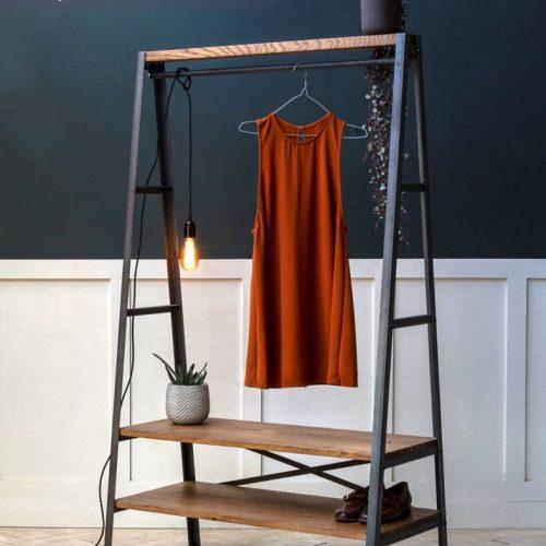 Giá treo quần áo cnc 45