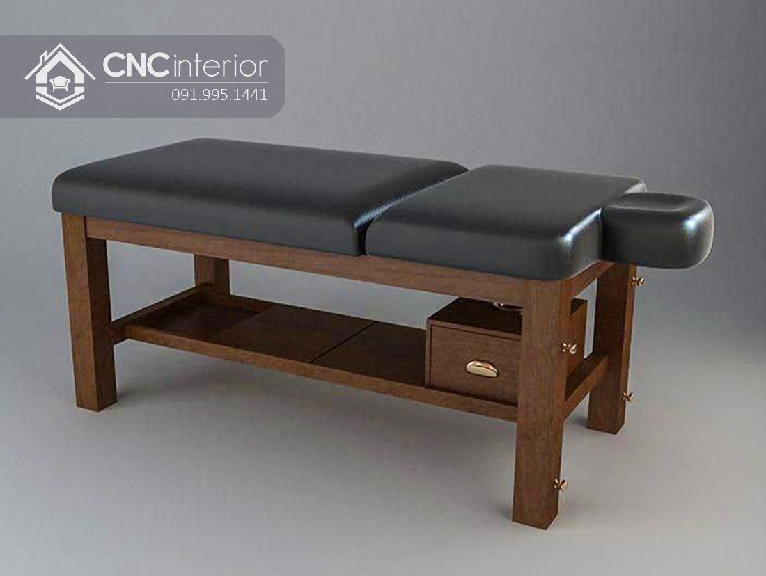 Giường Spa gỗ CNC 01 1