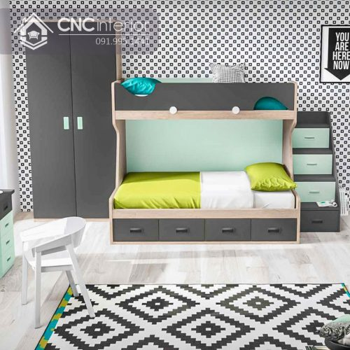 Giường tầng trẻ em CNC 01