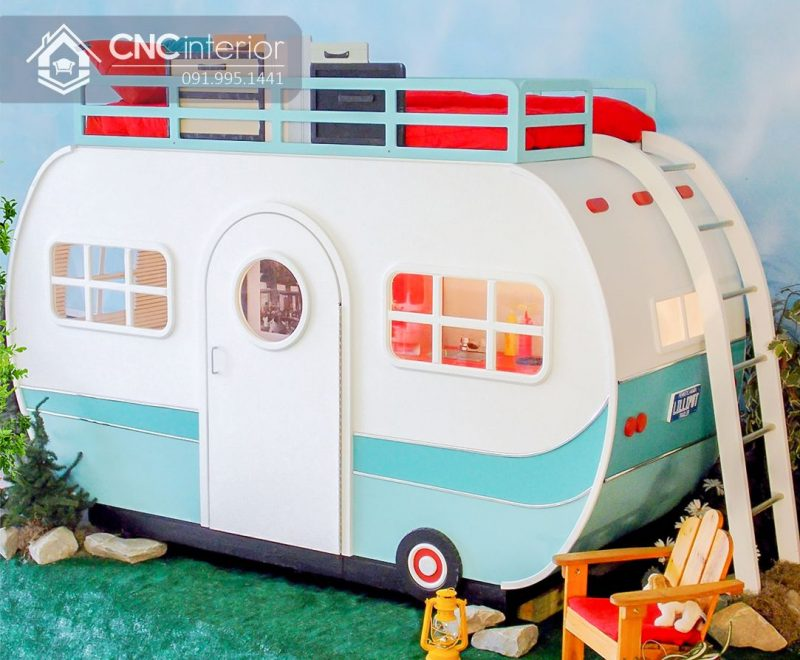 Giường tầng trẻ em CNC 02